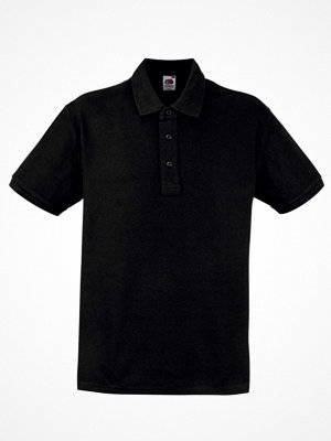 T-shirts - Fruit of the Loom Heavy Polo Black