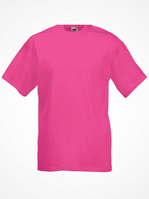 Fruit of the Loom Valueweight Crew Neck T Fuchsia