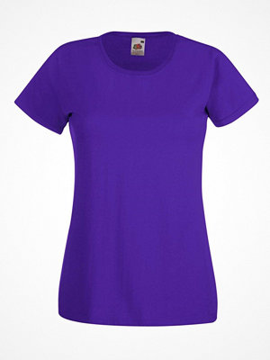 Fruit of the Loom Lady-Fit Valueweight T Lilac