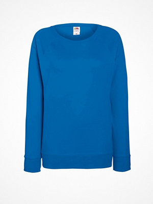 Fruit of the Loom Lady-Fit Light Raglan Sweat Royalblue