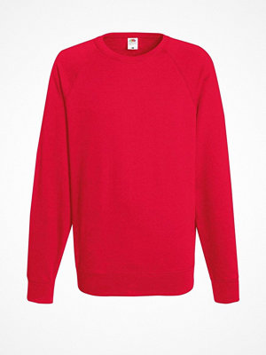 Fruit of the Loom Light Raglan Sweat Red