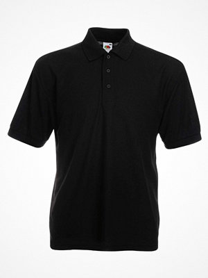 T-shirts - Fruit of the Loom 65/35 Polo Black