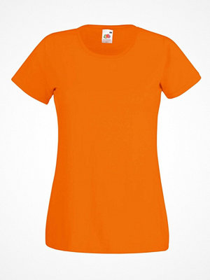Fruit of the Loom Lady-Fit Valueweight T Orange