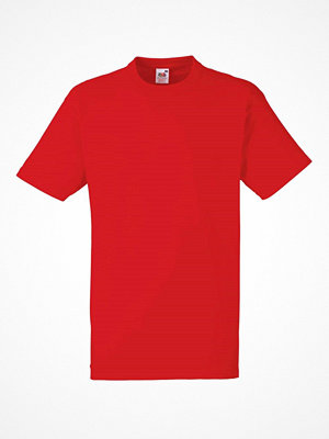 Fruit of the Loom Heavy Cotton T Red