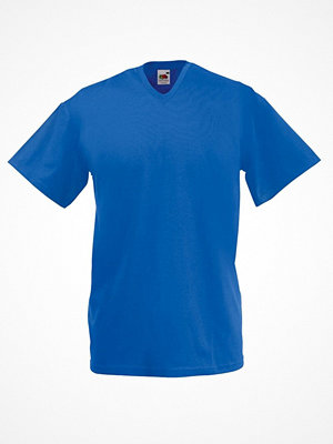 Fruit of the Loom Valueweight V-neck T Royalblue