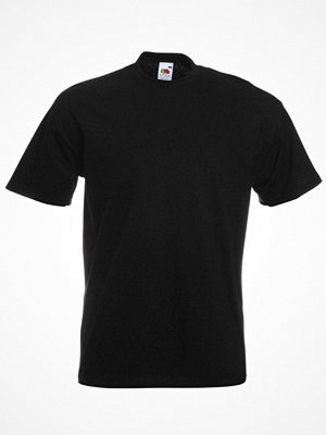 Fruit of the Loom Valueweight Crew Neck T Black