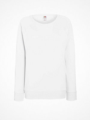 Fruit of the Loom Lady-Fit Light Raglan Sweat White