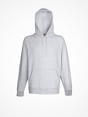 Fruit of the Loom Light Hooded Sweat Greymarl