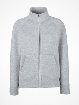Fruit of the Loom Lady-Fit Sweat Jacket Greymarl