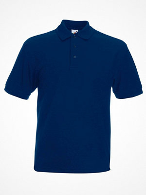 T-shirts - Fruit of the Loom Heavy 65/35 Polo Navy-2
