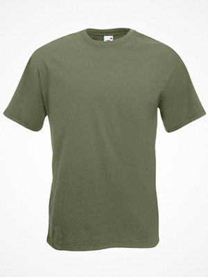 Fruit of the Loom Valueweight Crew Neck T Olive
