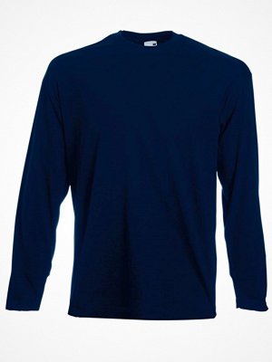 Fruit of the Loom Valueweight Long Sleeve T Darkblue