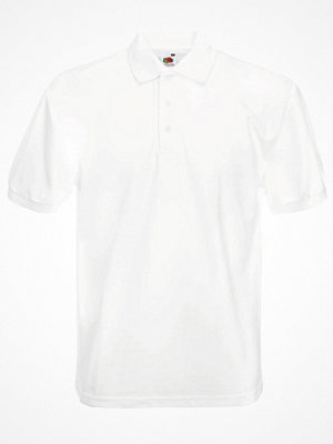 T-shirts - Fruit of the Loom Heavy 65/35 Polo White
