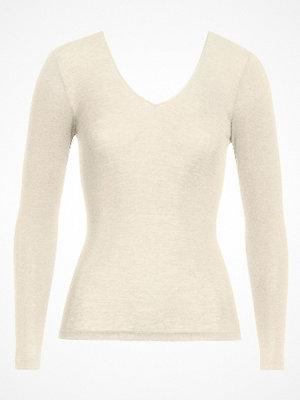Hanro Woolen Silk Ls Shirt 263 Ivory