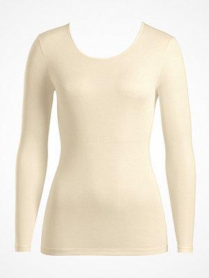 Hanro Pure Silk LS Shirt Champagne