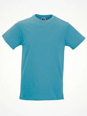T-shirts - Russell Mens Slim Fit T Turquoise