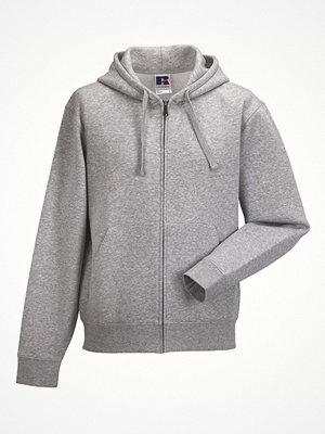 Russell Authentic Zipped Hood Greymarl