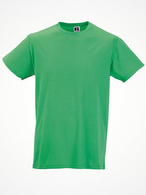 T-shirts - Russell Mens Slim Fit T Green