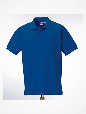 Russell M 100% Cotton Durable Polo Blue