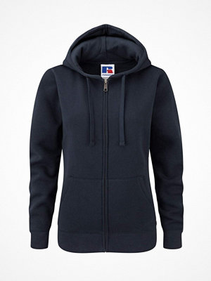 Russell Ladies Authentic Zipped Hood Darkblue
