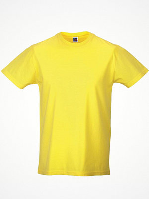 T-shirts - Russell Mens Slim Fit T Yellow