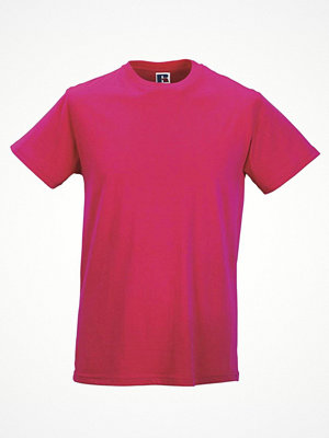 T-shirts - Russell Mens Slim Fit T Pink