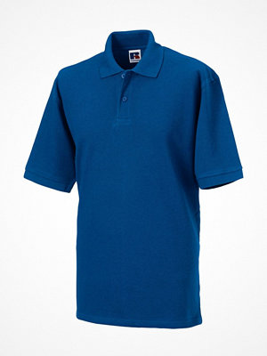 T-shirts - Russell M Classic Cotton Polo Royalblue