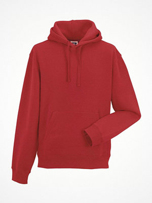Russell Authentic Hooded Sweat Red