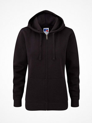 Russell Ladies Authentic Zipped Hood Black