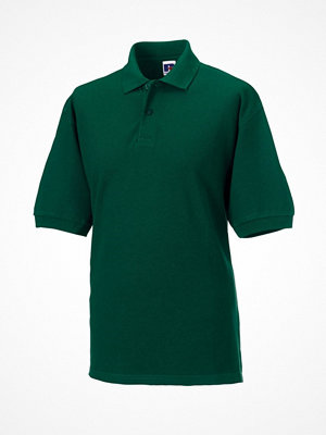 Russell M Classic Cotton Polo Darkgreen
