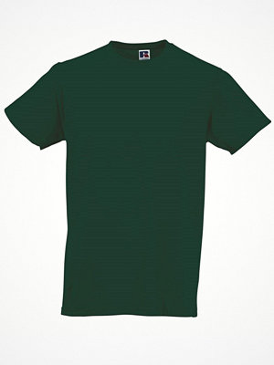 T-shirts - Russell Mens Slim Fit T Darkgreen
