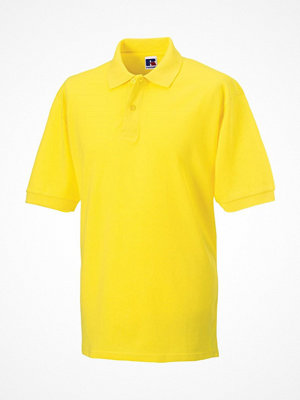Russell M Classic Cotton Polo Yellow