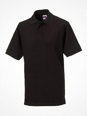 T-shirts - Russell M Classic Cotton Polo Black