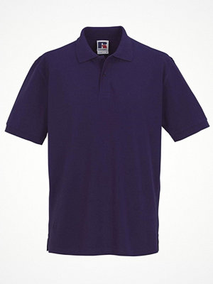 T-shirts - Russell M Classic Cotton Polo Lilac