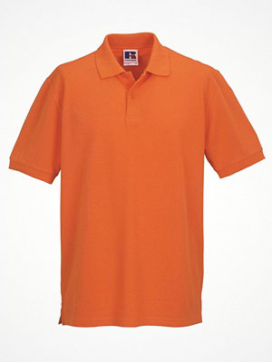 Russell M Classic Cotton Polo Orange