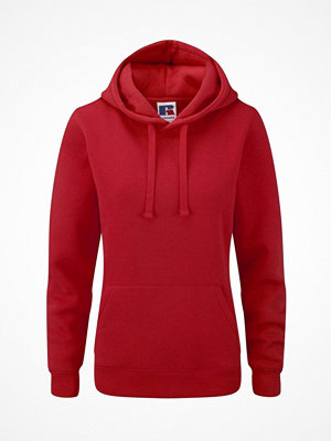 Russell Ladies Authentic Hooded Sweat Red