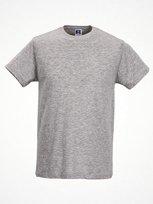 T-shirts - Russell Mens Slim Fit T Grey