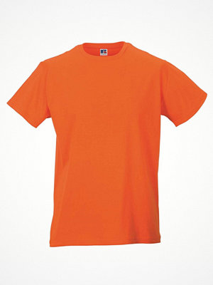 Russell Mens Slim Fit T Orange