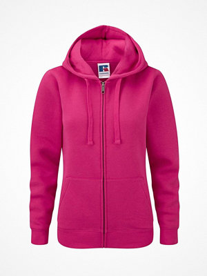 Russell Ladies Authentic Zipped Hood Pink