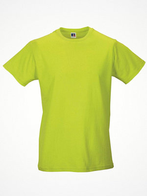 T-shirts - Russell Mens Slim Fit T Light green