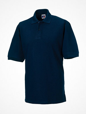 Russell M Classic Cotton Polo Darkblue
