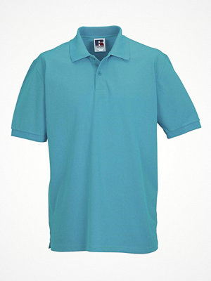 Russell M Classic Cotton Polo Turquoise
