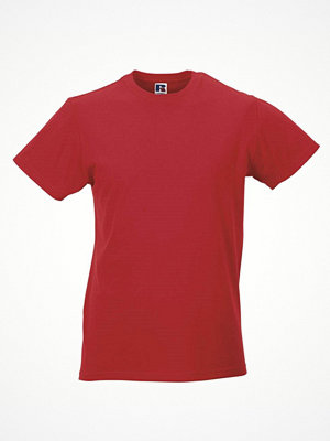 T-shirts - Russell Mens Slim Fit T Red