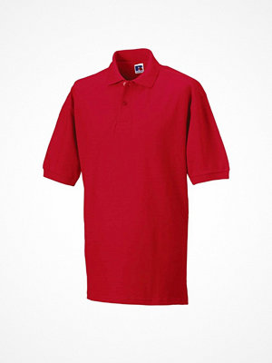 Russell M Classic Cotton Polo Red