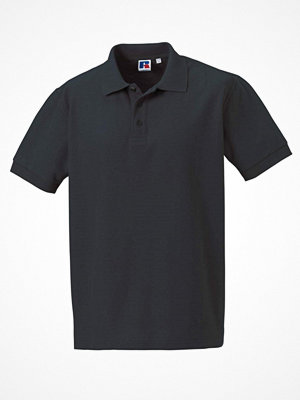 T-shirts - Russell M 100% Cotton Durable Polo Darkgrey