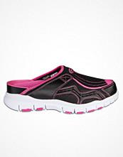 Scholl Jump Clogs Black/Pink