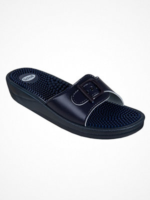Tofflor - Scholl New Massage Women 1 Navy-2