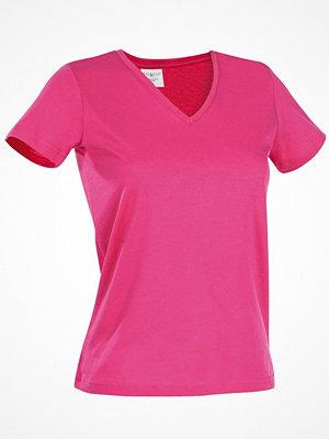 Stedman Classic V-Neck Women T-shirt Pink