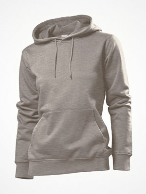 Stedman Sweatshirt Hooded Women Darkgrey