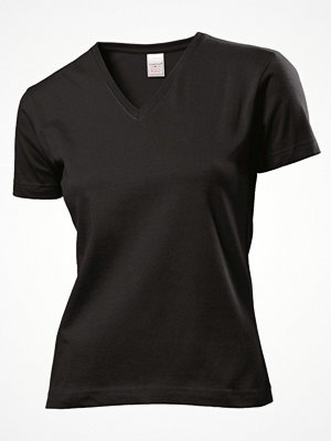 Stedman Classic V-Neck Women T-shirt Black